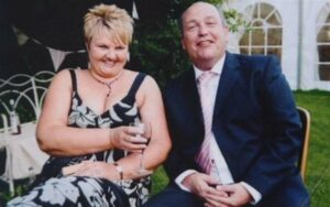 Cheryl Stollery and her husband John